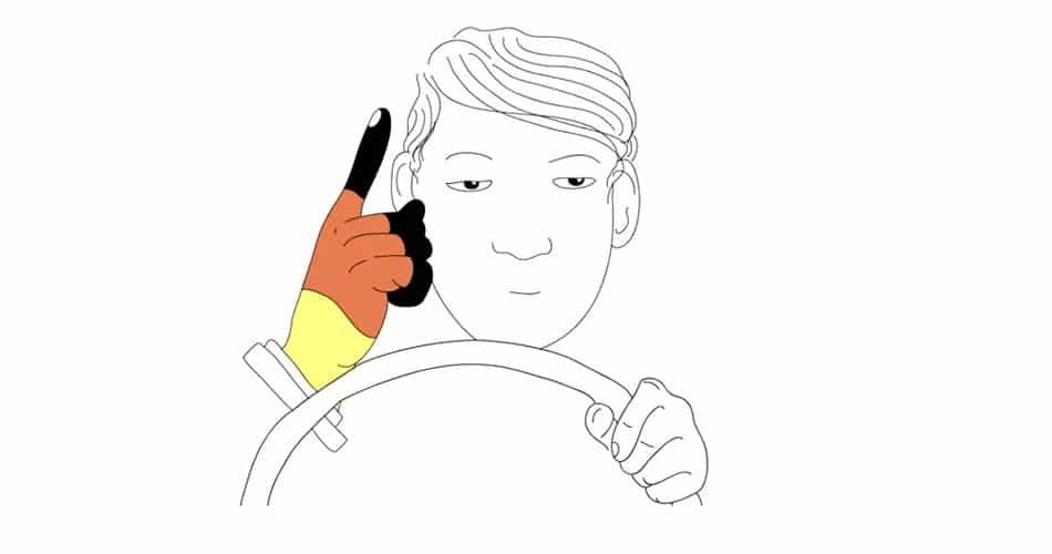 Wortwurzel Handzeichen